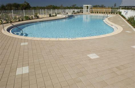 pool paver ideas pool deck gallery