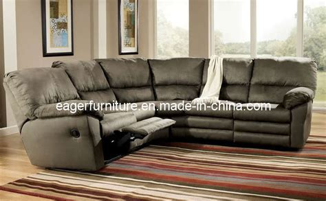 fabric sectional sofa with recliner china sectional recliner fabric sofa es2008 china sofa