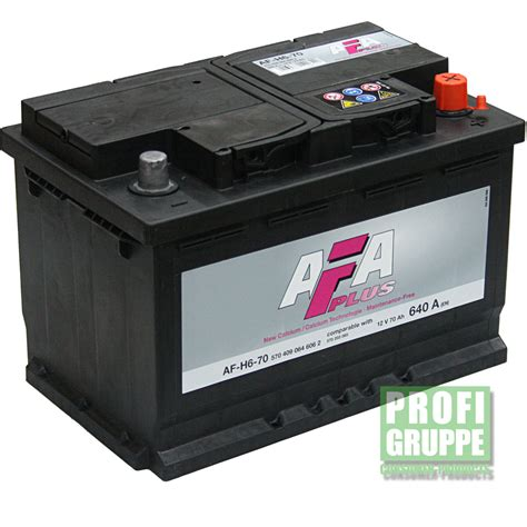 Motorrad Batterie Forstinger by Afa Plus 74ah Autobatterie Starterbatterie