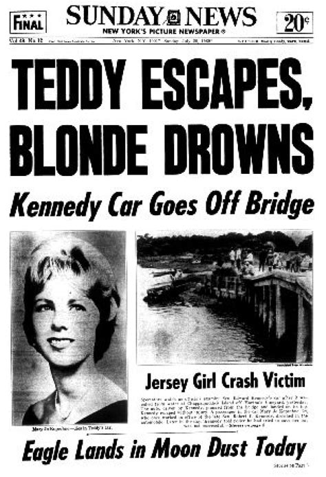 Chappaquiddick New York Kennedy Remembered Slide 16 Ny Daily News