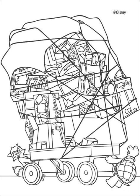food cart coloring page rj verne and a food cart coloring pages hellokids com