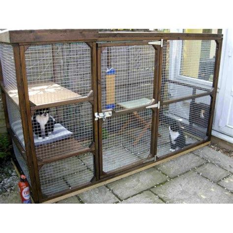 pens for outside bespoke outdoor cat runs cat enclosures and cat pens