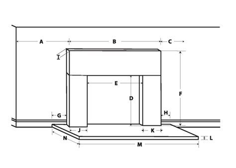 Fireplace Dimensions by Fireplace Mantel Worksheet How To Measure For A Mantel
