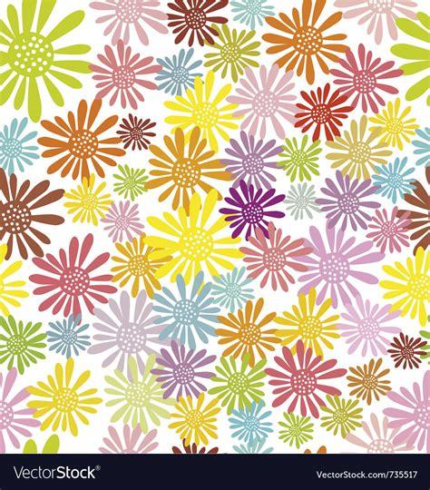 hippie vector pattern hippie flowers seamless pattern vector art download