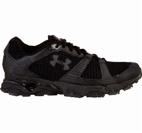 black armour shoes mirage black trail running shoe by armour shoes