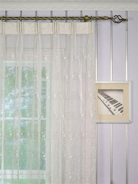 custom made sheer curtains elbert daisy chain embroidered custom made sheer curtains