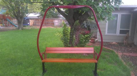 Buy Ski Lift Chair by Antique 1970 S Crested Butte Colorado By