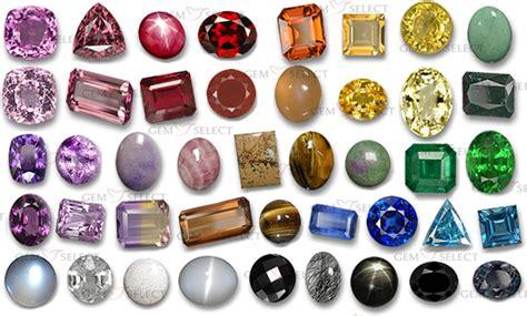 gem colors gemstones by color gemstone information gemselect
