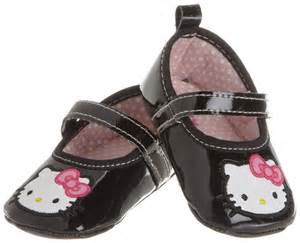 Rising star baby girls newborn girls hello kitty mary jane strap shoes