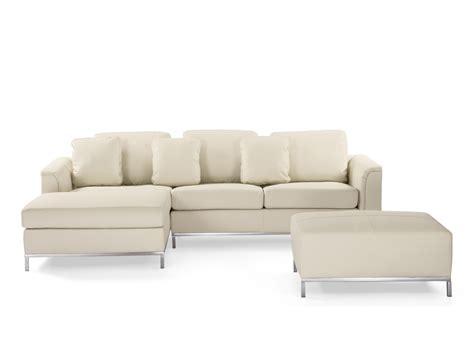 sofa beige leder sofa beige leder ecksofa r sofalandschaft