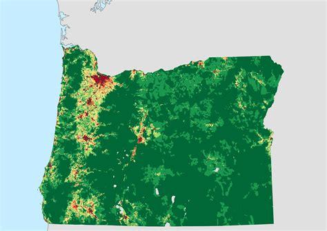 map of oregon elevation oregon population density map swimnova