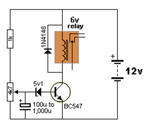 capacitor delay circuit time delay circuit using capacitor 28 images simple delay timer for one minute my circuits 9