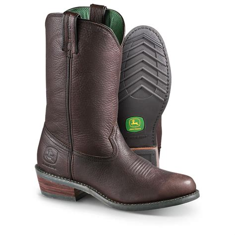 s deere boots s deere 174 12 quot work wellington boots brown