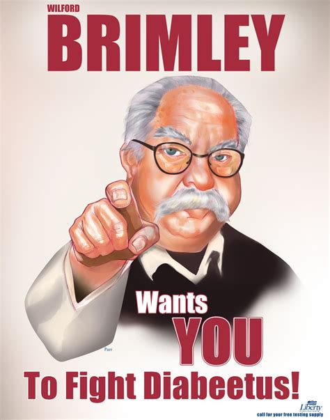 Wilford Brimley Diabeetus Meme - wilford brimley diabetes funny pinterest