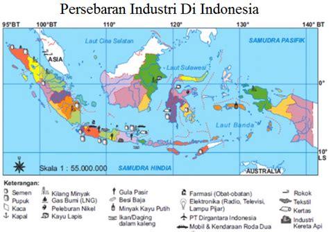 gambar format ota persebaran industri di indonesia secara lengkap