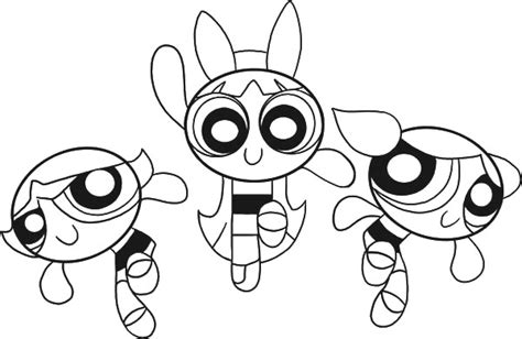 Powerpuff Girls Printable Coloring Pages Coloring Pages Power Puff Coloring Pictures