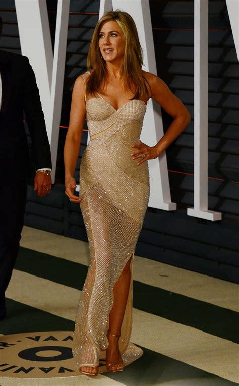Vanity Fair Aniston by Aniston At Vanity Fair Oscar In