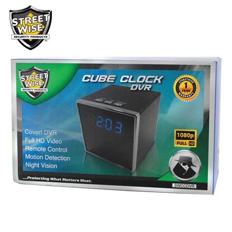 Does Cube A Criminal Record Streetwise Cube Clock Dvr Hooked Investigations