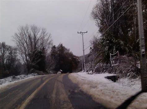 cadenas para nieve temuco un nuevo sistema frontal se pronostic 243 para 209 uble y toda