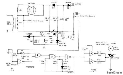 smoke detectors wiring diagram images