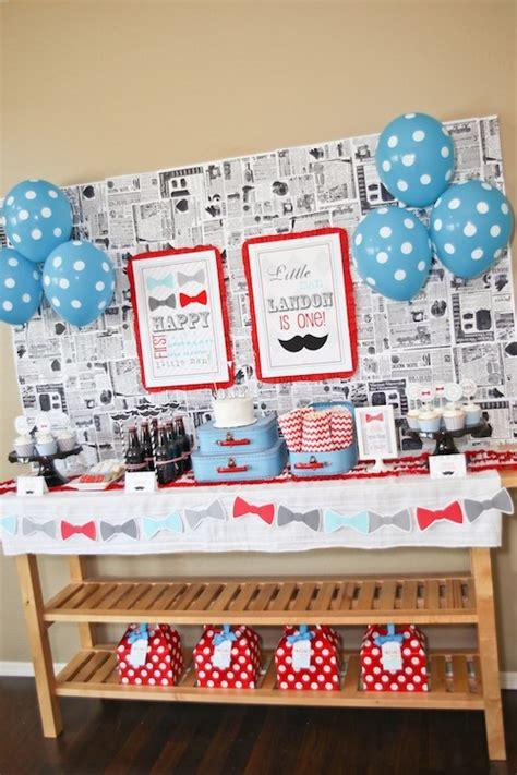 dessert tables on a budget inspiration bow ties little man birthday cimvitation