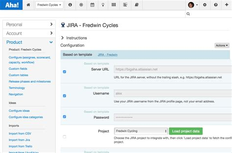 jira task template just launched aha jira integration templates aha