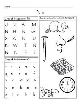letter n worksheets 5 letter n worksheets alphabet phonics worksheets 1374