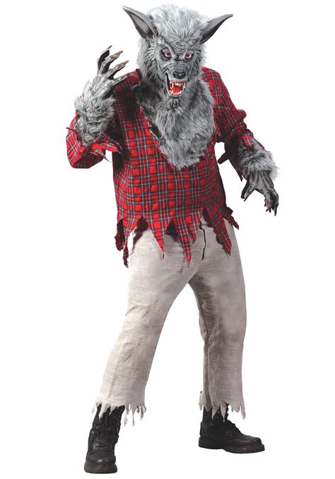 wolf costume silver costume