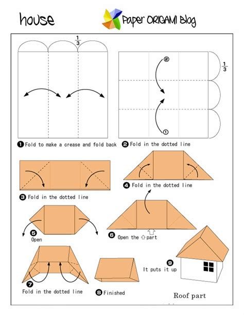 How To Make House Origami - how to make house origami 28 images step by step how