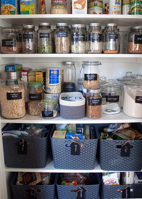 Pantry Organization Ideas Small Pantry by How We Organized Our Small Kitchen Pantry Kitchen Treaty