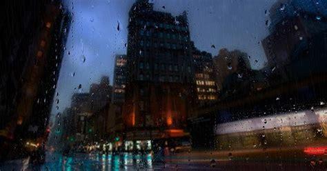 city   rain wallpaper engine  wallpaper