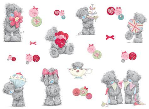 me to you wall stickers tatty teddy celebration stickers wall stickers