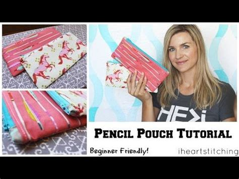 youtube zipper tutorial the zipper pouch an easy quilting project tutorial by