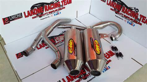 Knalpot Racing Fmf Fullset Klx 150 Dtrackertrail Dll fmf powercore 4 muffler for klx150 s dan klx150 l fullset quot pnp quot