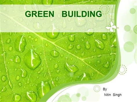 Green Building Authorstream Green Building Concept Ppt
