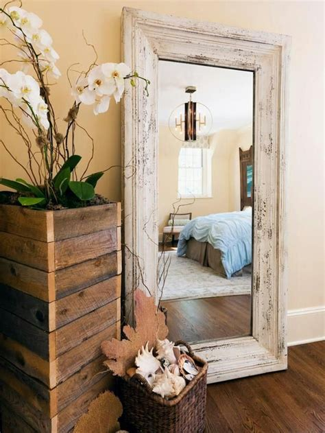big mirror for bedroom diy rustic mirror and a half bath update apartment