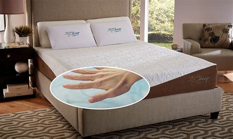 12 quot gel memory foam mattresses with optional foundation