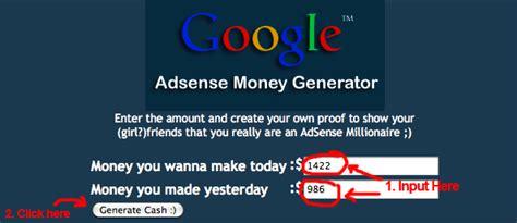 adsense generator beware of fake google adsense report