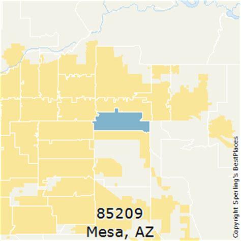zip code map mesa az best places to live in mesa zip 85209 arizona
