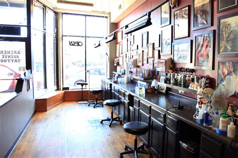 famous tattoo shops shops for flash photorealism and more types of ink