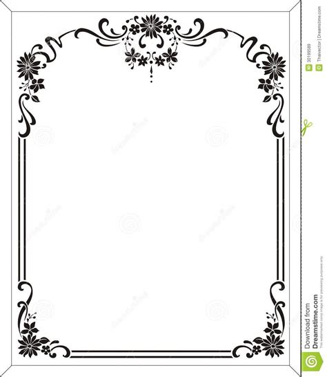 Flower Frame Royalty Free Stock Images   Image: 30199589