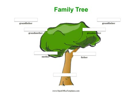 11 generation family tree template 6 best images of generation family tree template printable
