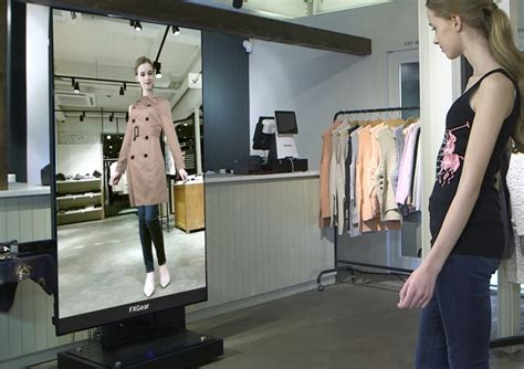 The Technology To Hit The Fitting Rooms Interactive Mirrors by Digital Display Digital Mirror Fitting