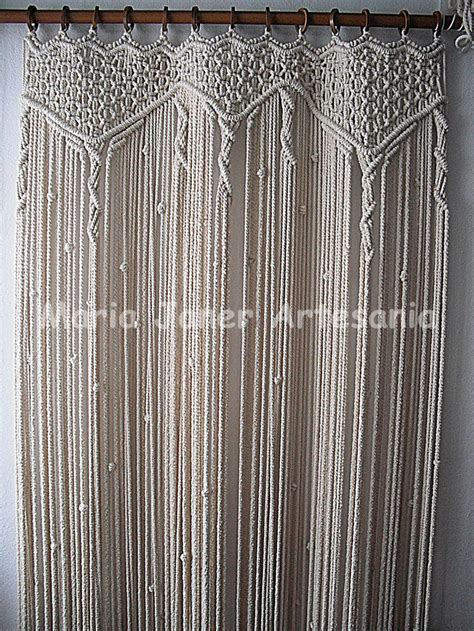 Macrame Rope Patterns - 36 best images about macrame curtains on