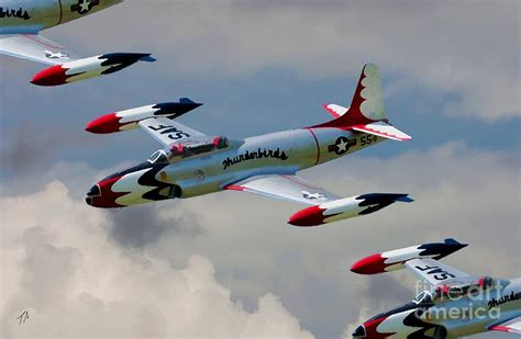 lockheed t33 jets aircraft for sale used new 1 2 tbirds lockheed t 33 shooting star digital art by tommy