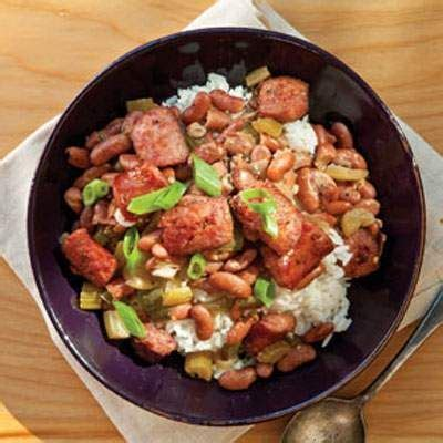 red beans  rice  delta queen cookbook  cynthia
