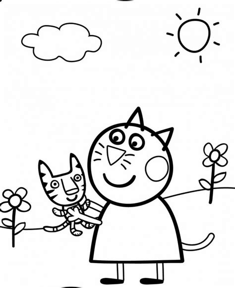 Peppa Pig Ausmalbilder F 252 R Kinder The Pig Coloring Pages