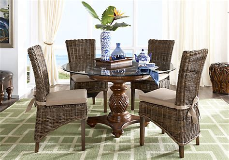 home key west pine 5 pc dining
