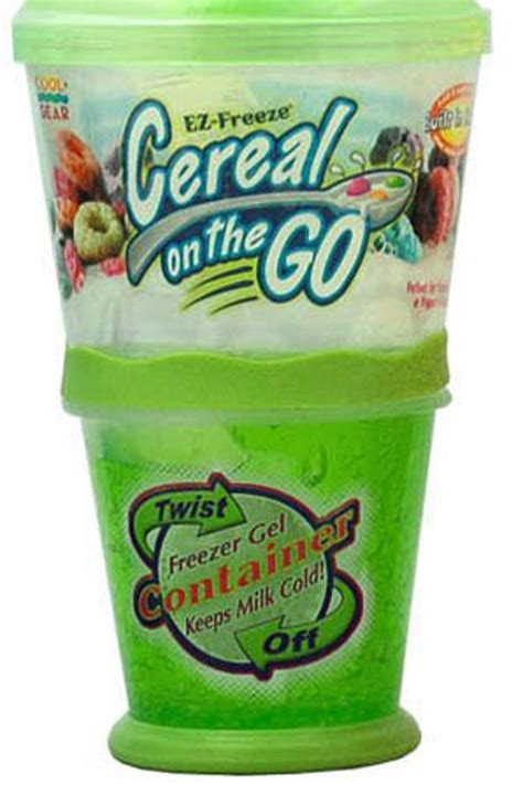 Cereal On The Go cereal on the go container eat drink garden santa