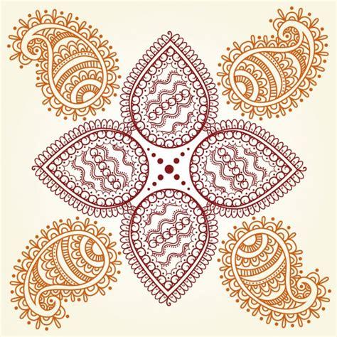 abstract hindu ornament vector free download